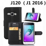 image of Samsung Galaxy J120 / J1 2016 / J1 16  Wallet Leather Flip Cover Case