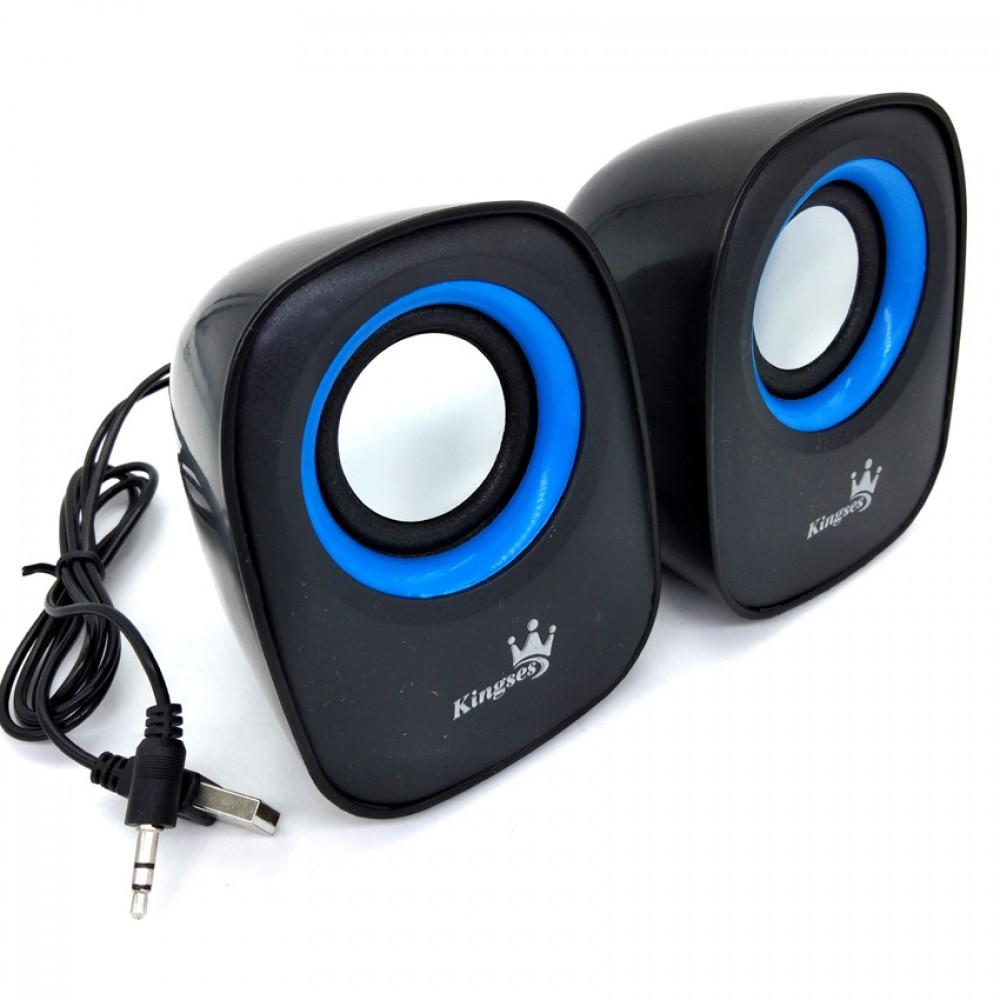 Kingses KTL-S07 2.0 Channel Multimedia Speaker System(C1-2)