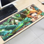 One Piece OP13 80 x 30 x 0.2cm Gaming Mat Non-slip Anti Fray Stitching Mouse Pad