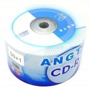 image of Angte CD-R 52X 700mb 80min 50Pcs +Free 1Pcs