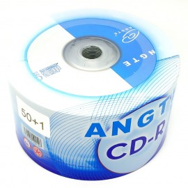 image of Angte CD-R 52X 700mb 80min 50Pcs +Free 1Pcs