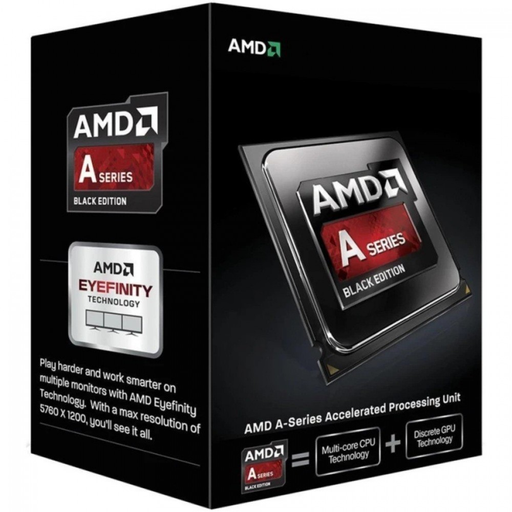 AMD PROCESSOR A6-7400K Dual-Core 3.5 GHz Socket FM2+ Desktop Processor Radeon R5