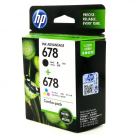 image of Official HP 678 Combo Pack Ink Cartridge (L0S24AA)