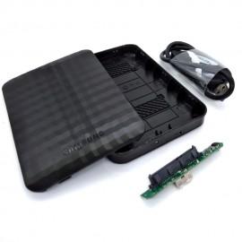 image of Samsung M3 Portable 2.5 SATA USB3.0 Portable HDD Enclosure (P8-1)