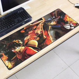 image of One Piece OP17 -5-4 Gaming Mat Non-slip Anti Fray Stitching Mouse Pad