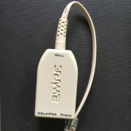 image of ADSL Splitter Telephone/Modem Lightning Protection With Line 15cm(BG-2)