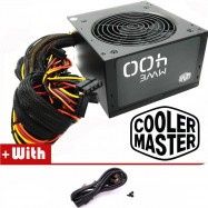 image of Official Cooler Master MWE400 Reliable and Energy Efficient 400W Power Supply