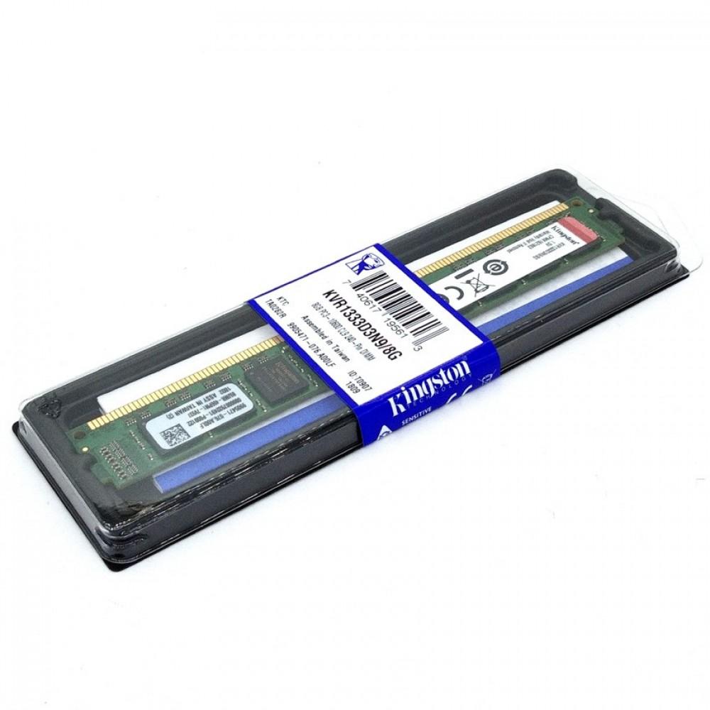 Official Kingston KVR1333D3N9/8G 8GB DDR3 1333Mhz Desktop Memory Ram (T12-11-4)
