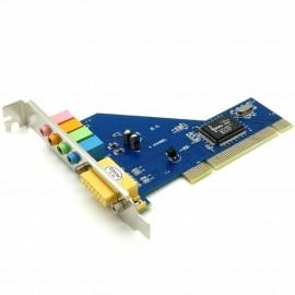 image of CMI 8738 - 4 Channel Pci Sound Card For Desktop Pc (EL-4)