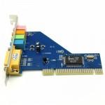 CMI 8738 - 4 Channel Pci Sound Card For Desktop Pc (EL-4)