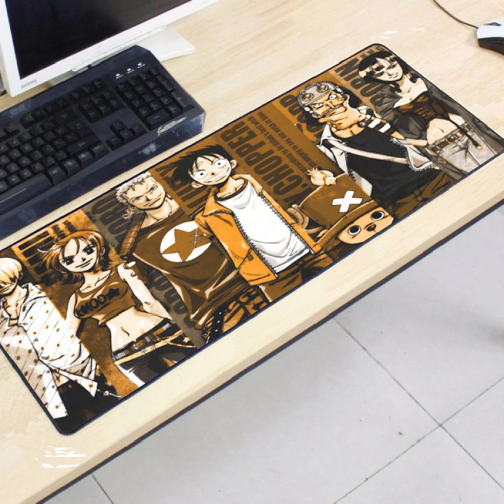 One Piece OP26 -5-3 Gaming Mat Non-slip Anti Fray Stitching Mouse Pad