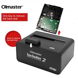 """image of Olmaster USB 3.0 External Docking Station for 2.5"""" / 3.5"""" Sata Hdd"""