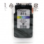 image of Official Canon CL-811 Color Ink Cartridge Without Packing Box