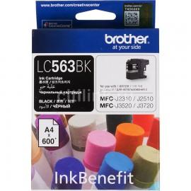 image of Original Brother LC-563BK Black Ink Cartridge