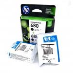 Official 1Pcs HP 680 Black / Tri-Color Ink Advantage Cartridges