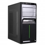 AVF Classique Series ACCS560-BG (Green) ATX Casing with 500W Power Supply