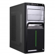image of AVF Classique Series ACCS560-BG (Green) ATX Casing with 500W Power Supply