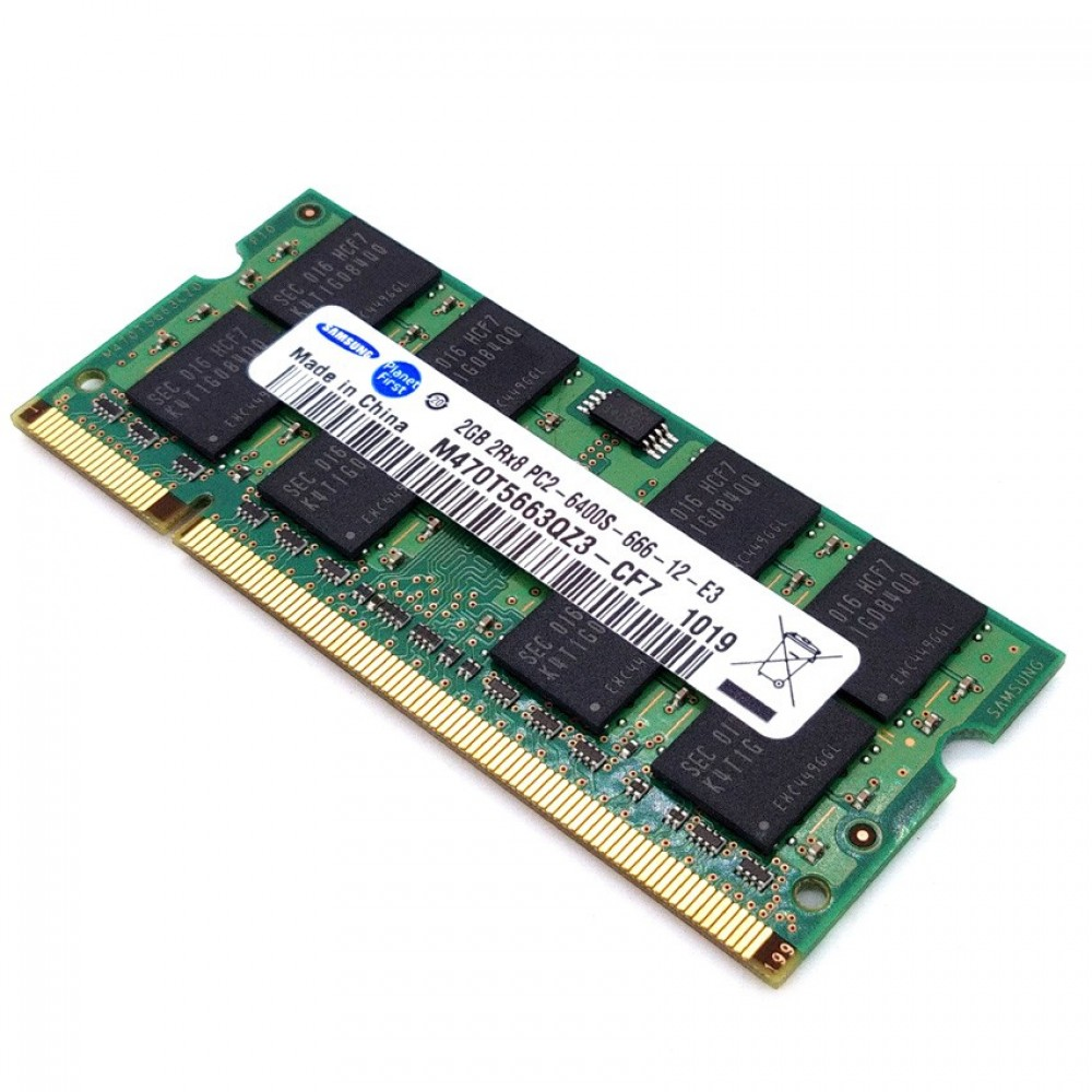 Ram 2gb Ddr2 100 Working Samsung 800mhz Laptop Sodimm T11 4
