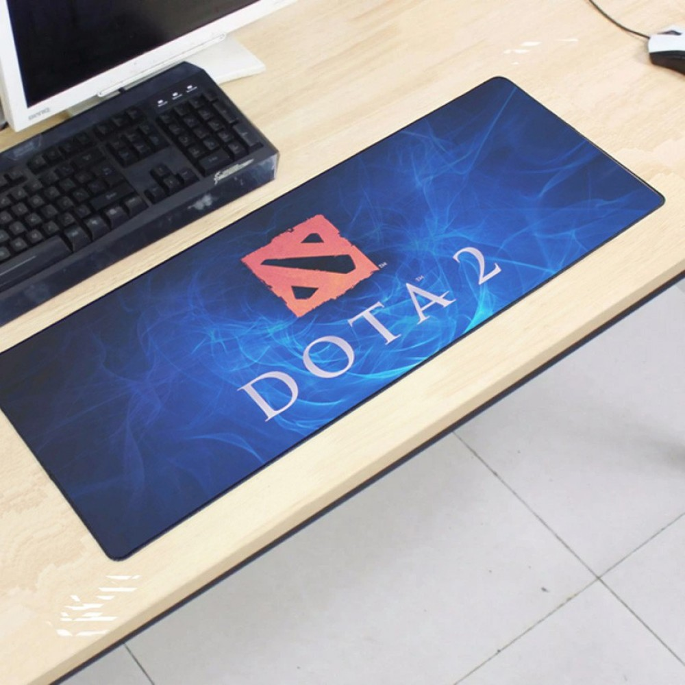 Dota2 DT07 80 x 30 x 0.2cm Gaming Mat Non-slip Anti Fray Stitching Mouse Pad