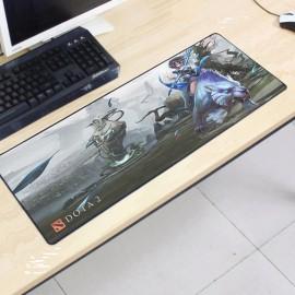image of Dota2 DT97 80 x 30 x 0.2cm Gaming Mat Non-slip Anti Fray Stitching Mouse Pad