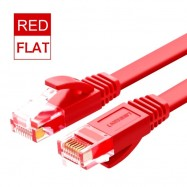 image of Ugreen Flat Cat6 Rj45 Networking Ethernet Cable Speeds up to 1000 Mbps