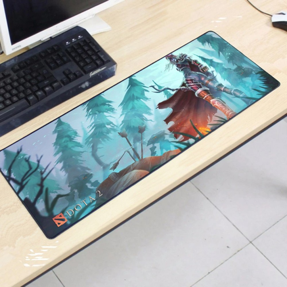 Dota2 DT26 80 x 30 x 0.2cm Gaming Mat Non-slip Anti Fray Stitching Mouse Pad