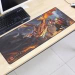 Dota2 DT96 80 x 30 x 0.2cm Gaming Mat Non-slip Anti Fray Stitching Mouse Pad