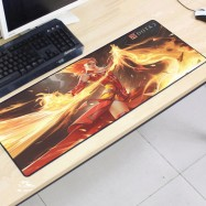 image of Dota2 DT94 80 x 30 x 0.2cm Gaming Mat Non-slip Anti Fray Stitching Mouse Pad