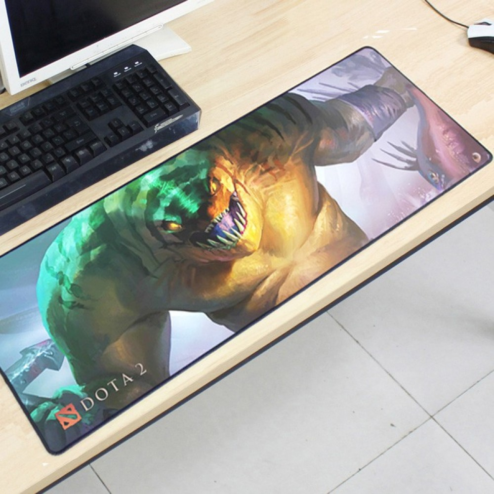 Dota2 DT118 80 x 30 x 0.2cm Gaming Mat Non-slip Anti Fray Stitching Mouse Pad