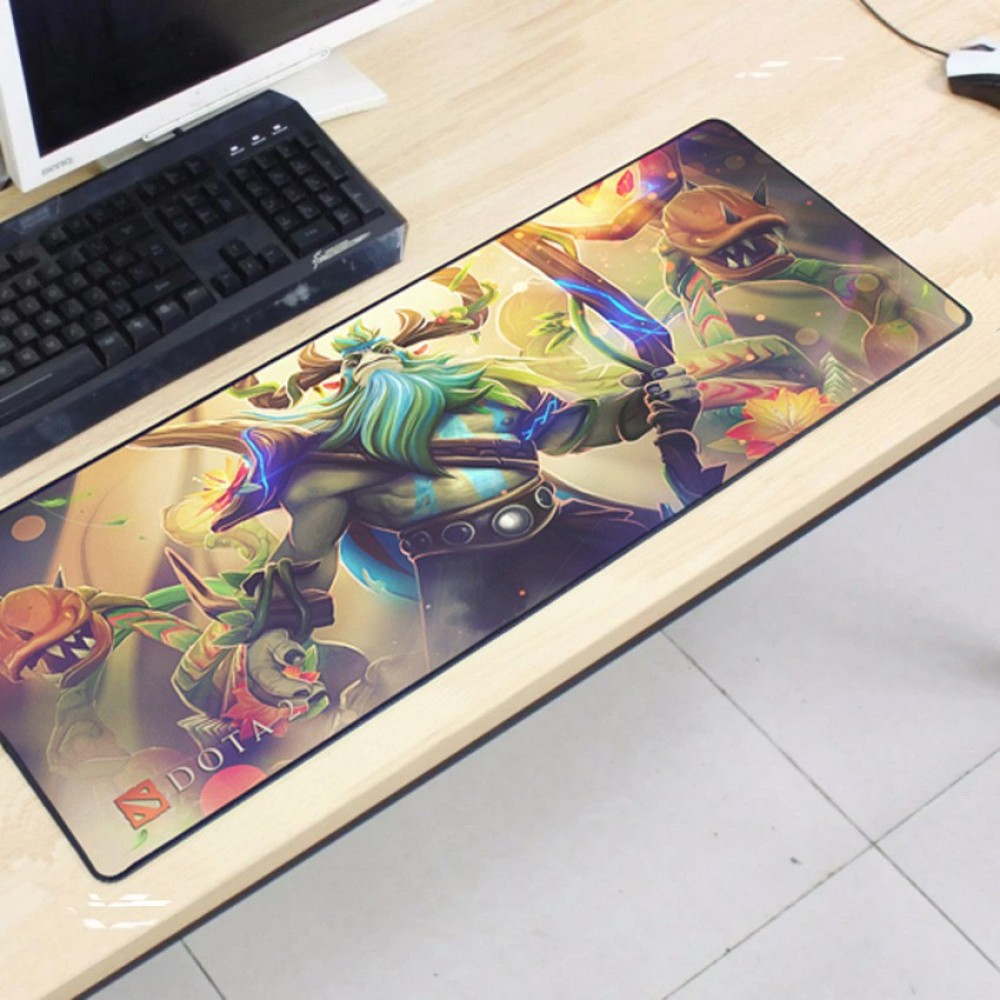 Dota2 DT64 80 x 30 x 0.2cm Gaming Mat Non-slip Anti Fray Stitching Mouse Pad