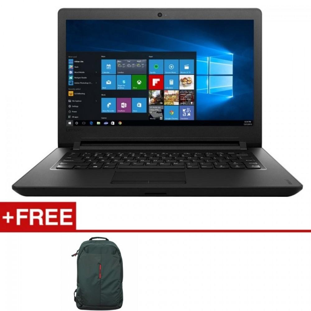 "Lenovo Ideapad 110-14IBR 80T6006LMJ 14"" Intel N3060, 4GB, 500GB, Intel, W10H"