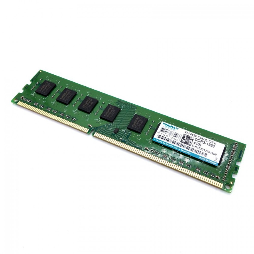 Official KingMax 4GB DDR3 1333MHz LONG-DIMM 16 Chip Ram FOR PC Desktop (T11-5)