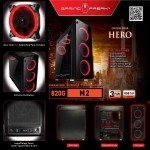 Official AVF Gaming Freak M2 820G Temper Glass Middle Tower ATX Casing (USB3.0)