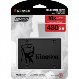 image of Official Kingston A400 480GB SSD - SA400S37 Speed Up To RD:500mb/s (T15-11)