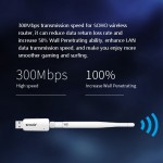 Official Tenda U1 300Mbps Ultra-Fast Wireless USB Adapter