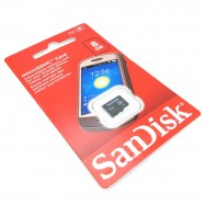 image of Official SanDisk 8GB Class 4 Micro Memory Card