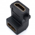 L Type With Screw Holes 90 degree elbow HDMI Extension Adapter(T15-12-5)