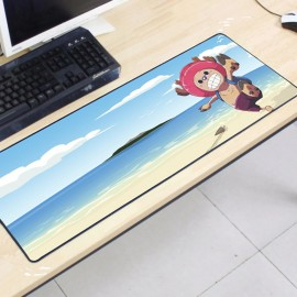 image of One Piece OP21 80 x 30 x 0.2cm Gaming Mat Non-slip Anti Fray Stitching Mouse Pad