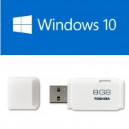image of UEFI Bootable USB 8GB USB Flash Drive With Windows 10 64Bit Single Language Eng