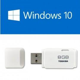 image of UEFI Bootable USB 8GB USB Flash Drive With Windows 10 64Bit Single Language Eng