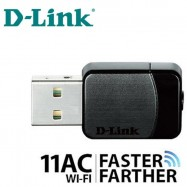image of Official D-LINK DWA-171 Wireless AC Dual Band WiFi USB Adapter Receiver 5dbi
