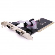 image of PCI Adapter Card 2Port DB9 RS232
