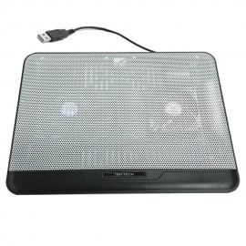 image of Tinytech NB-c021 High Quality Notebook Cooler Pad (White)
