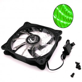 image of Imperion Supernova 120 FA-G12 Silent Edition 12CM LED Fan (Green)