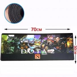 image of Dota2 70 x 30 x 0.2cm DT98 Gaming Mat Non-slip Mouse Pad (Z6-4)