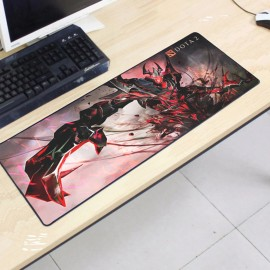 image of Dota2 DT35 80 x 30 x 0.2cm Gaming Mat Non-slip Anti Fray Stitching Mouse Pad