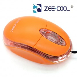image of Zee-Cool Zc-Acc304 Color Wired Usb Optical Mouse with LED Light