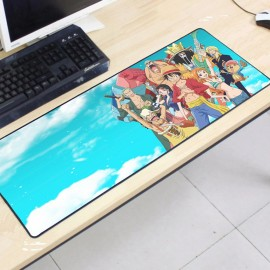 image of One Piece OP08 -5-2 Gaming Mat Non-slip Anti Fray Stitching Mouse Pad