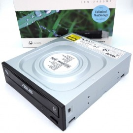 image of ASUS DRW-24D5MT Internal 24X DVD burner with M-DISC support lifetime data backup