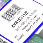 Official Kingston KVR16S11/2 2GB DDR3 1600Mhz Laptop Memory Ram (T12-12-12)